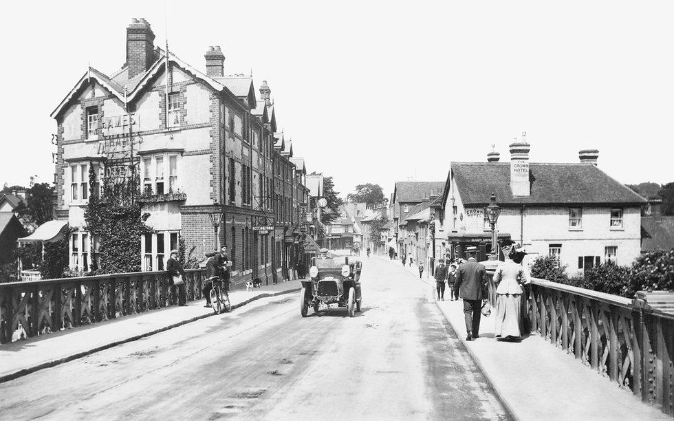 59962 Caversham, Bridge Street 1908 larg