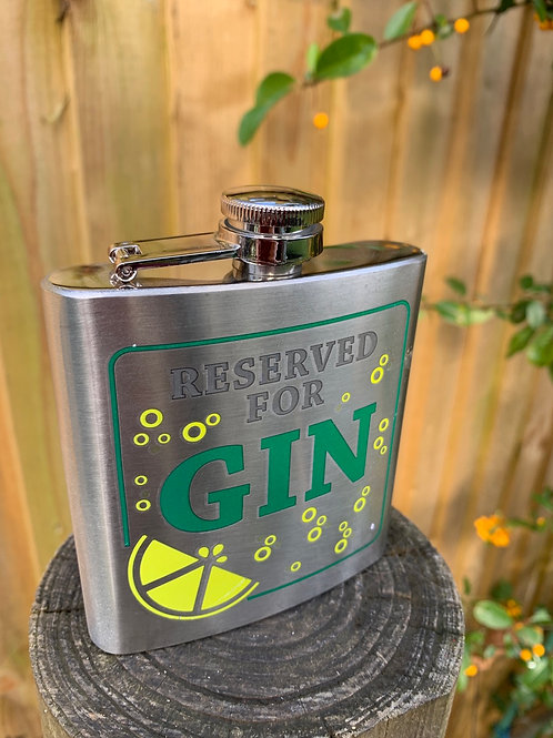 Gin Hip Flask