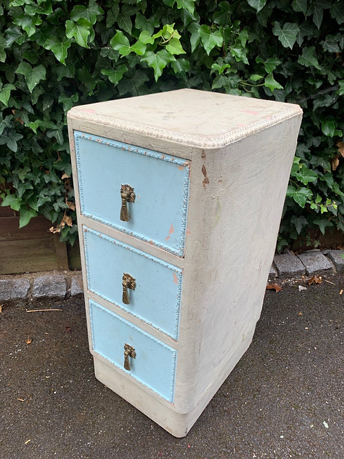 60's distressed but very sturdy/heavy drawers