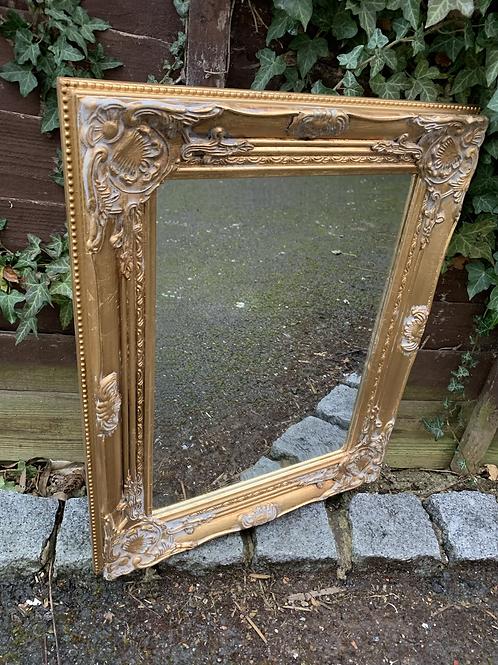 Gold gilt style mirror