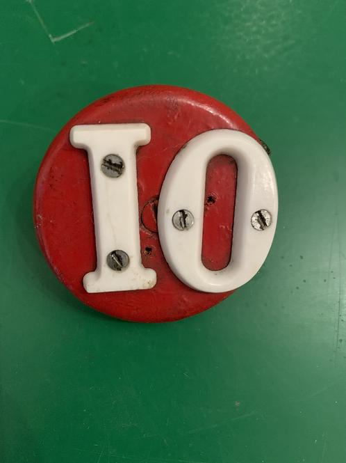 Vintage number 10