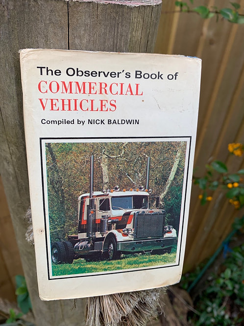 Vintage Observer's book of Commercial Vehicles