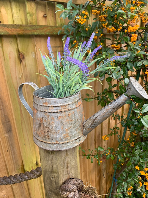 Small rustic style watering can