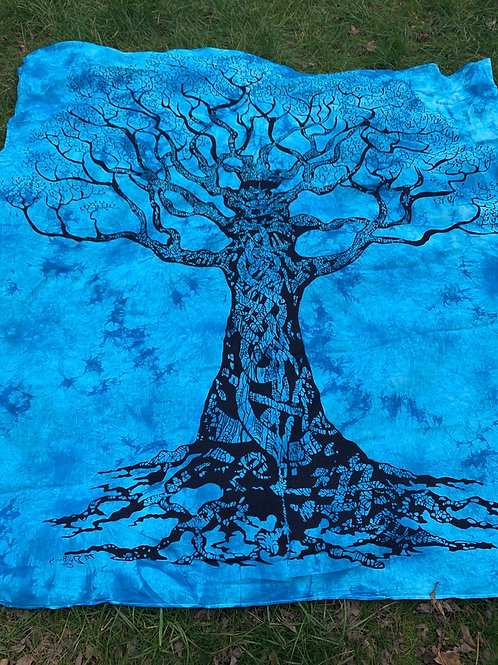Giant Tree of life wall decor or bedspread