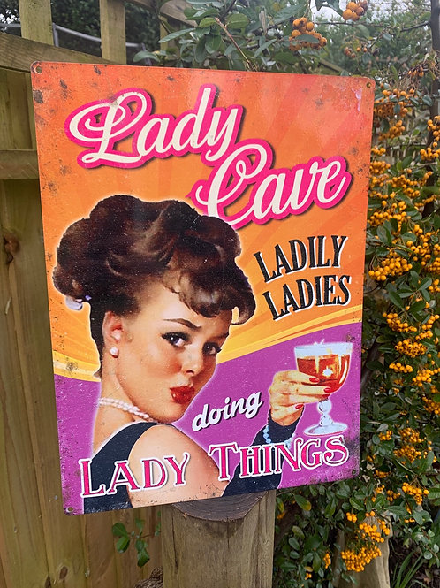 Lady Cave sign