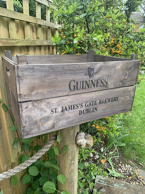 Guinness crate