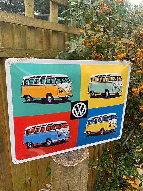 VW sign