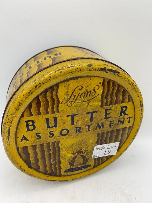 50's Lyons toffee tin