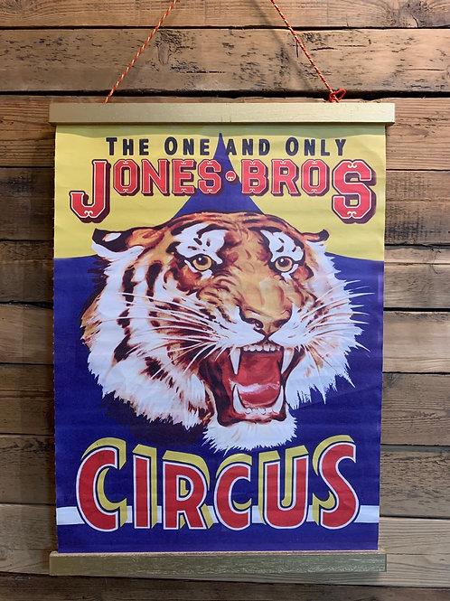 Wall hanging circus canvas