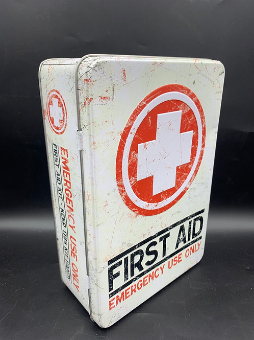 Large First Aid tin box