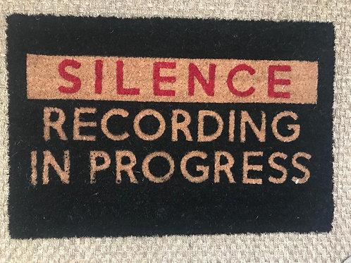 Silence door mat