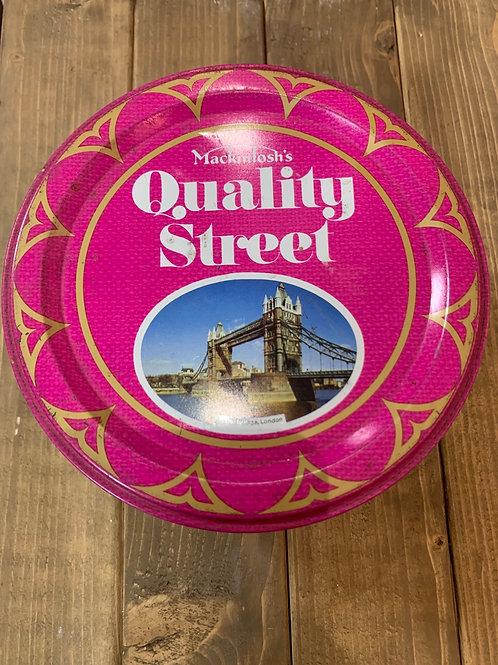 70's Quality Street tin
