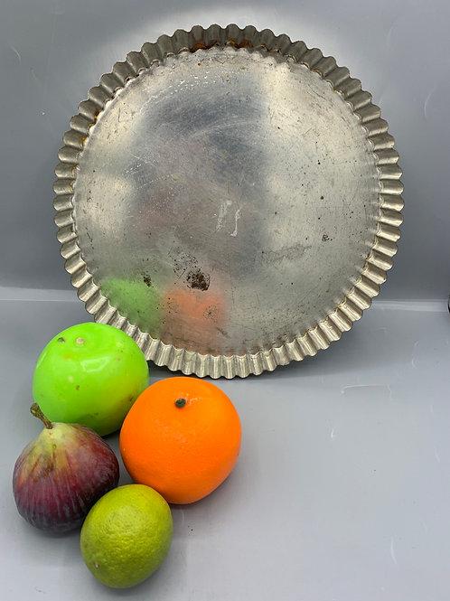 Vintage flan/quiche dish