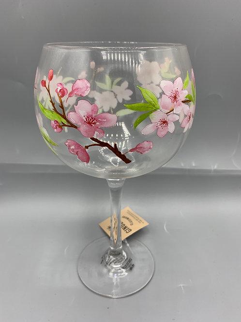 Cherry Blossom Gin glass