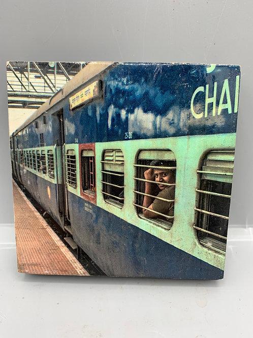 Indian railway coaster block