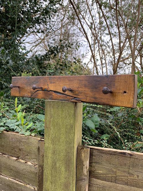 Indian hardwood hook