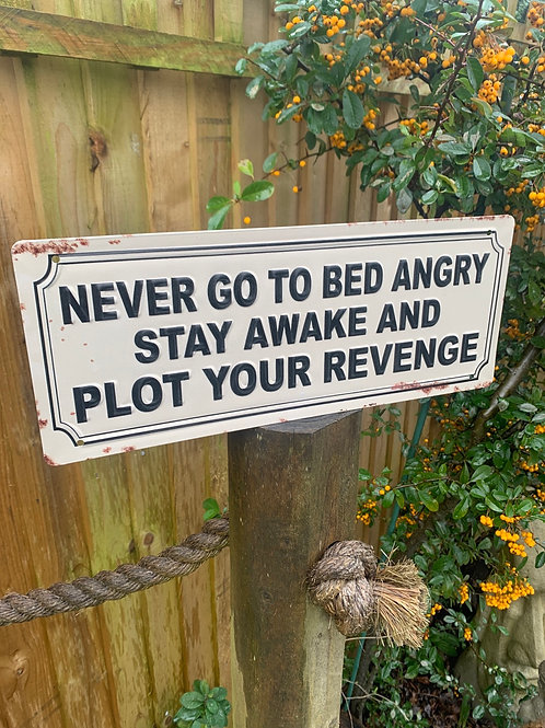 Revenge sign