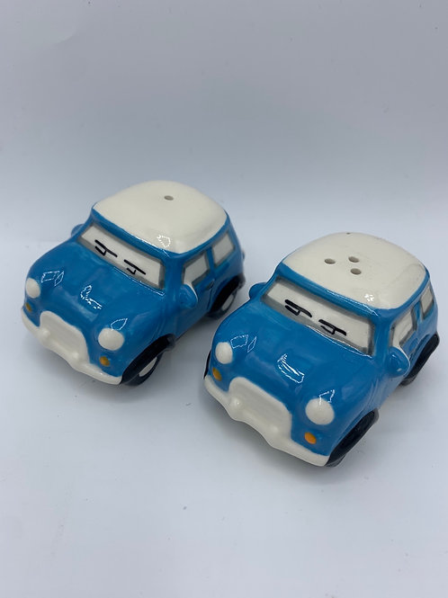 Blue salt & pepper mini set