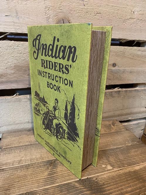 Medium Indian Rider's book storage box
