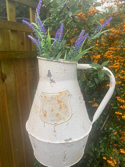 Rustic style decor jug