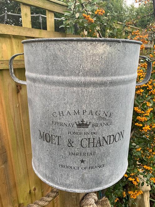 Large Moet champers bucket