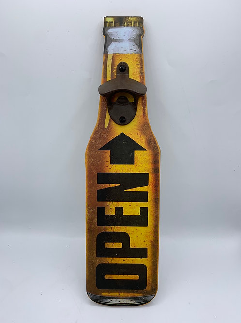 Giant bottle opener