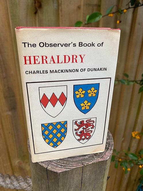 Vintage Observer's  book of Heraldry