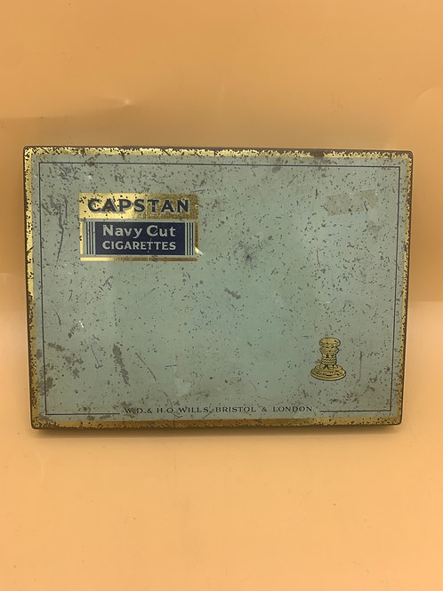 Large 50's cigarette tin