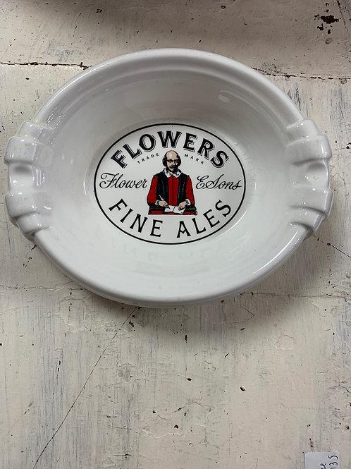 Vintage large ceramic ashtray