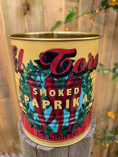 Medium size Paprika tin