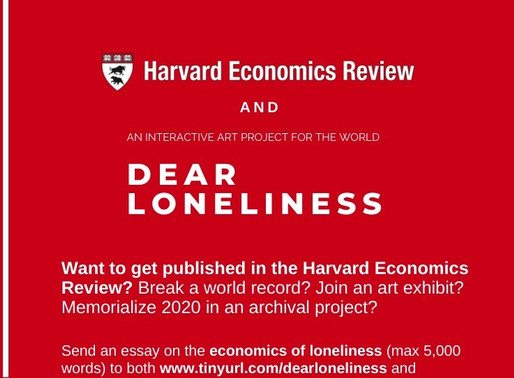 Win the HCER X Dear Loneliness Essay Competition to be published!