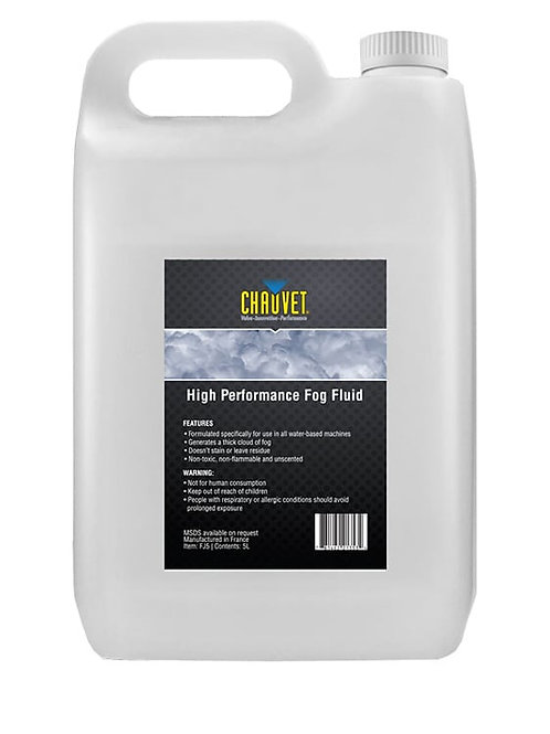 Chauvet DJ FF5 Smoke Machine Fluid – 5 Litre