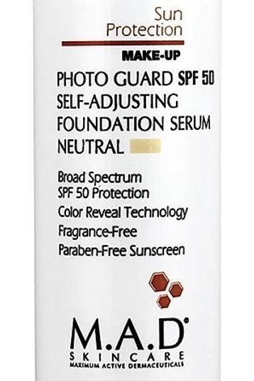 M.A.D Photo Guard Self Adjusting Foundation Serum (Neutral)