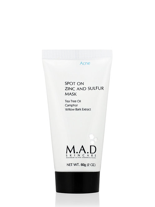 M.A.D Spot-On Zinc and Sulfer Mask