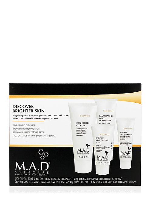 M.A.D Discover Brighter Skin KIT