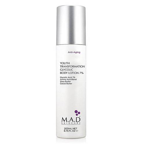 M.A.D Youth Transformation Glycolic Body Lotion