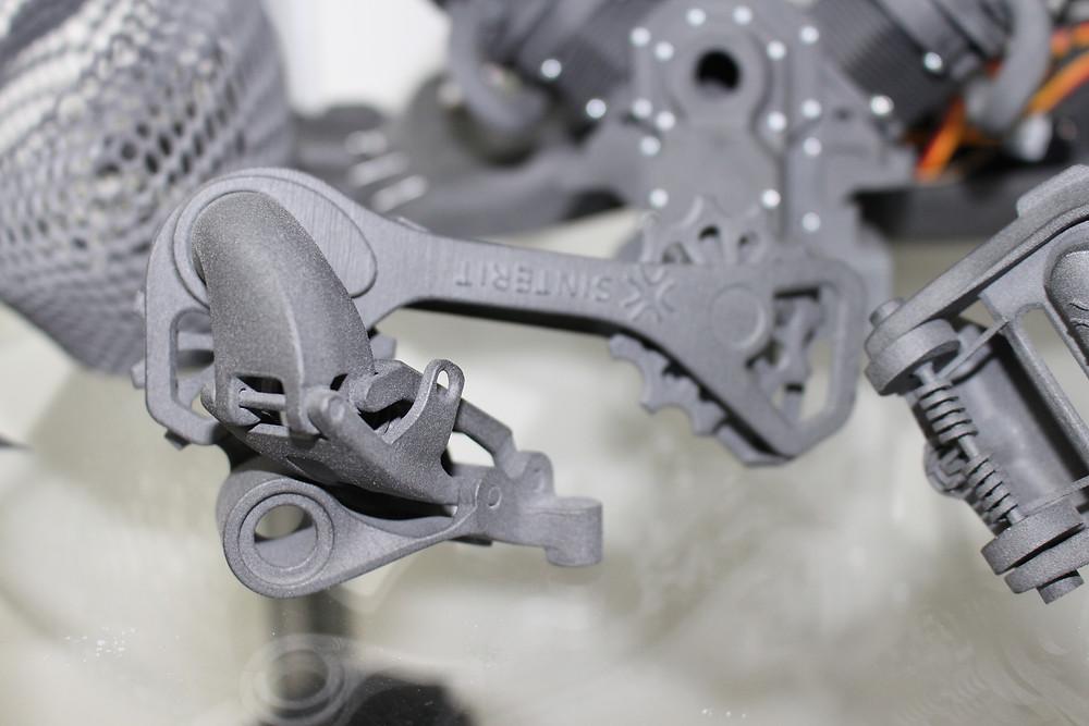 SLS 3d printed parts