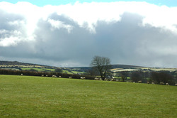 Cornwall view to Bodmin Moor
