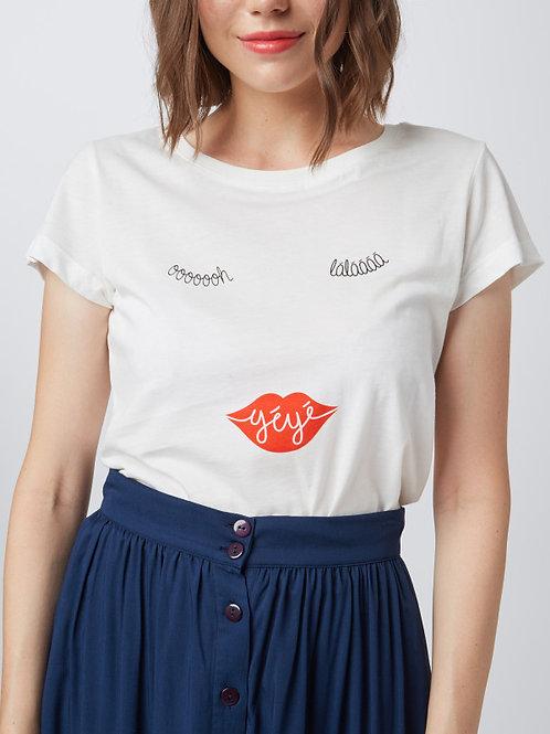 MME YEYE T-Shirt 'oooh Lalaaa`