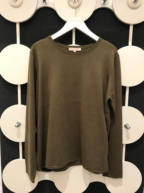 SOFT REBELS Pullover mit Rollsaum Zara