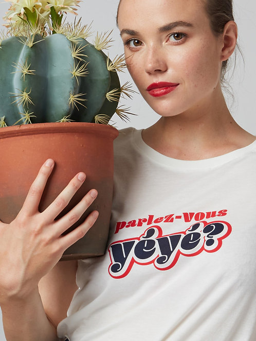 MME YEYE T-Shirt 'Parlez vous YEYE?'