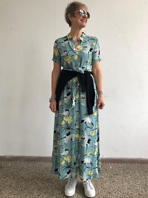 KING LOUIE Kleid Rosie Maxi Dress Del Rey