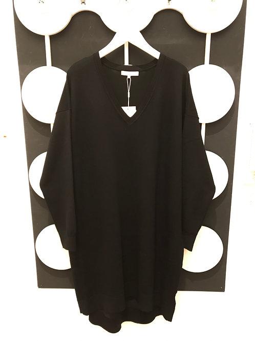 Strickkleid: Lea V-Neck Dress