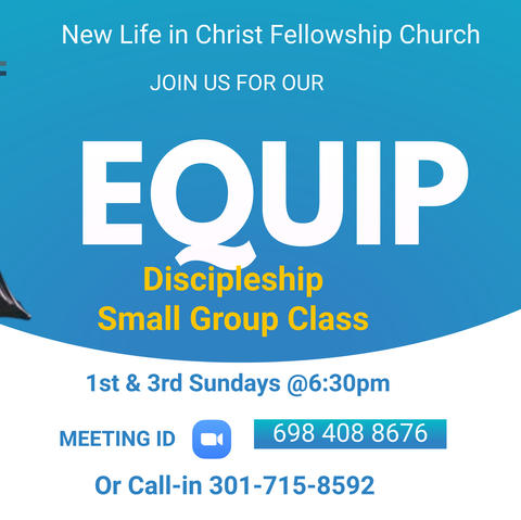 Equip Discipleship Class