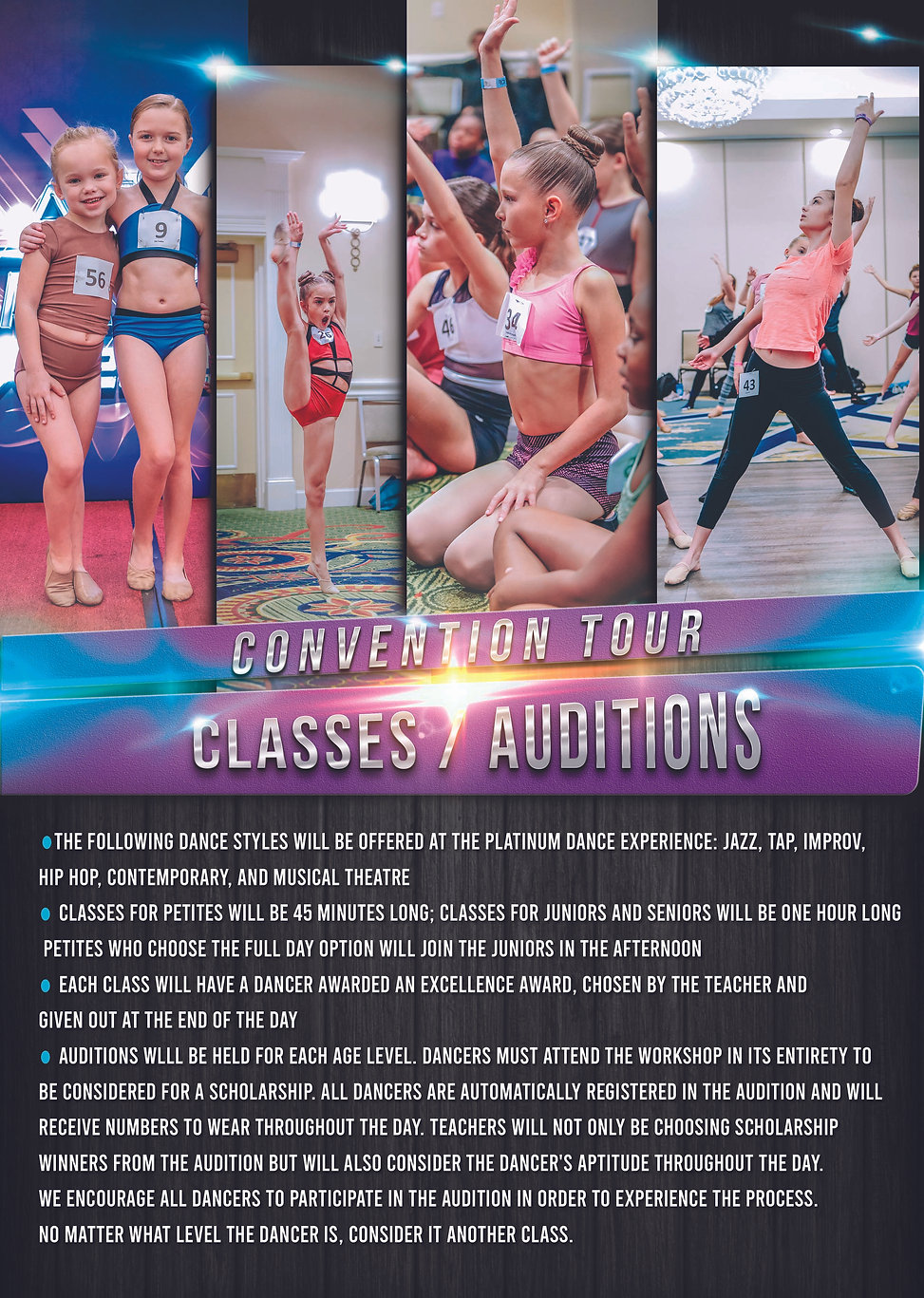 PDE Rules and Regs classes & Auditions (