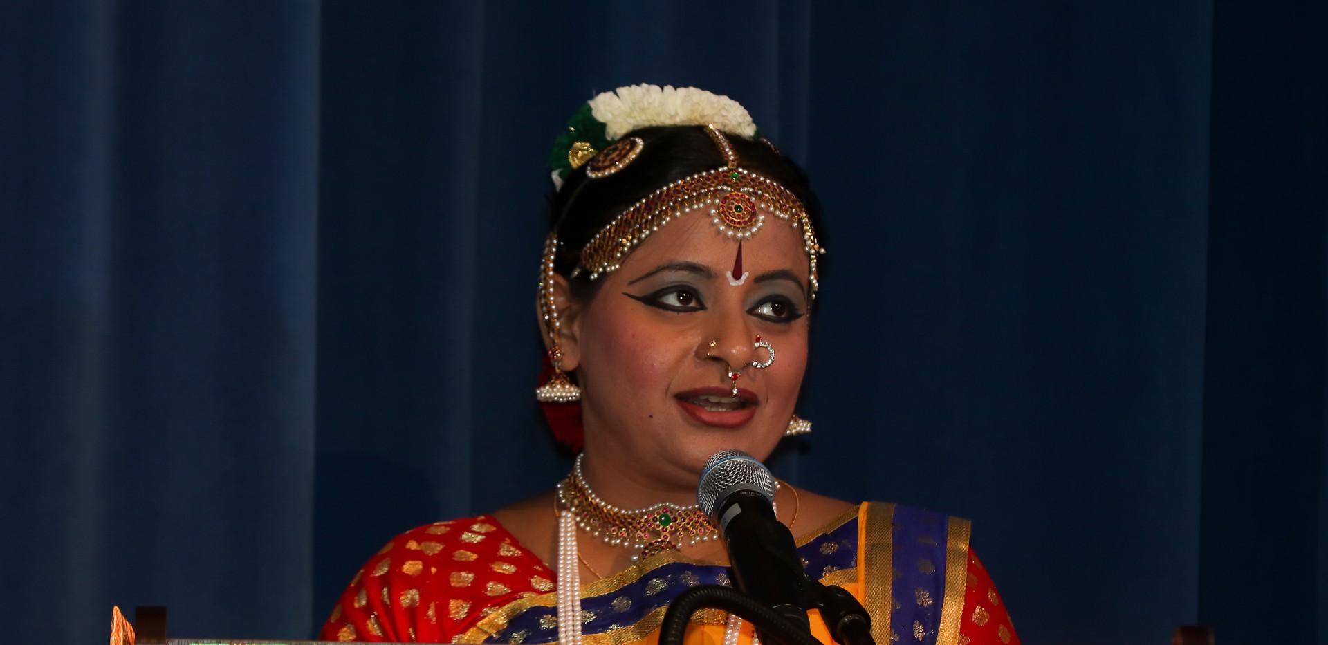 Master of Ceremony - Priya Shivkumar