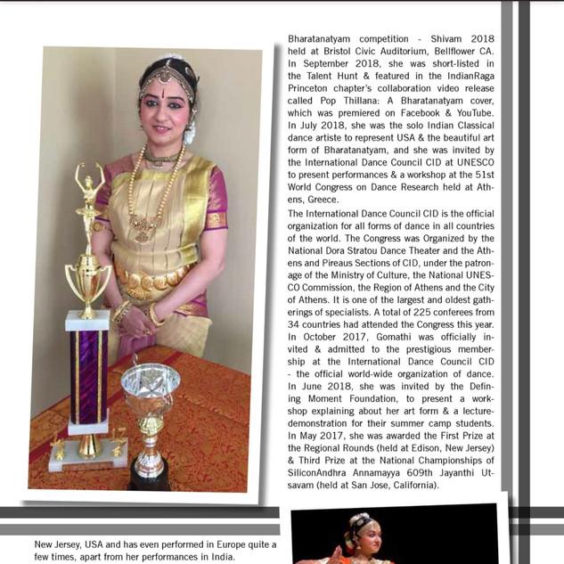 Indian Talent Magazine - June 2019