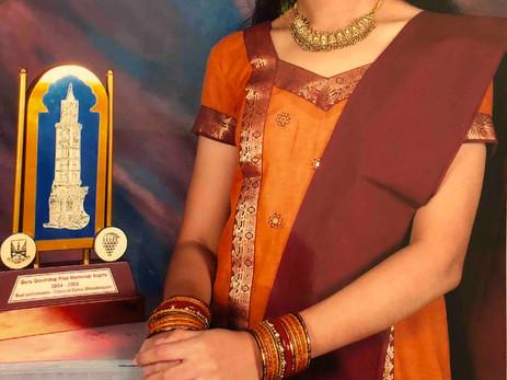 University of Mumbai - 'Best Dancer' Award