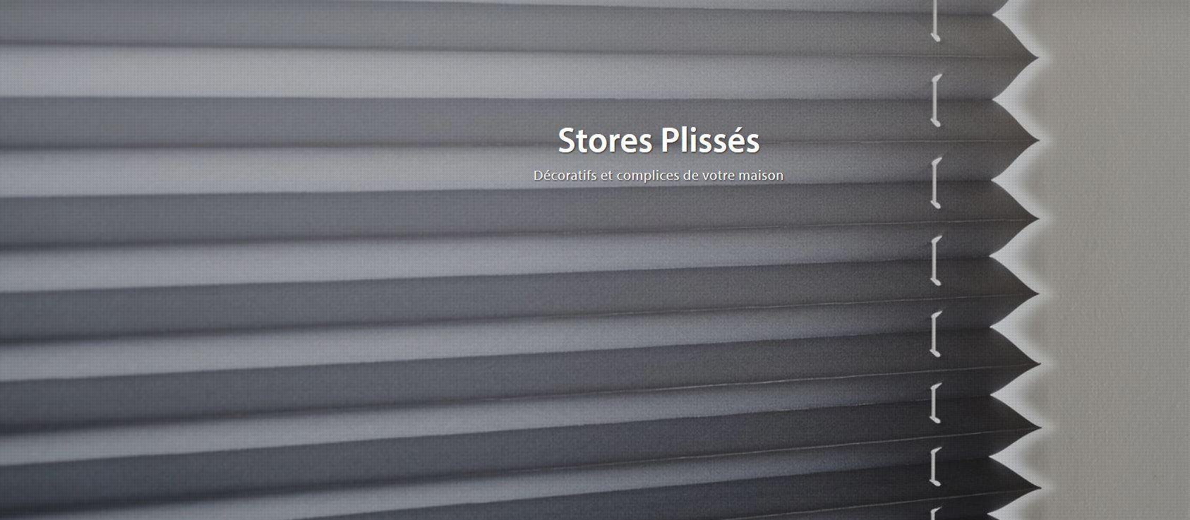 Store plissé LUXAFLEX
