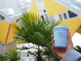 Vanaf 1 december kun je afvalvrij koffie to go halen in Rotterdam